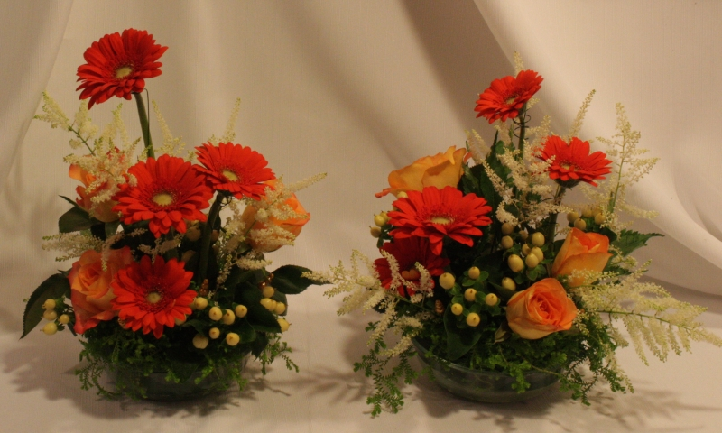 2 SMALL ARRANGEMENTS