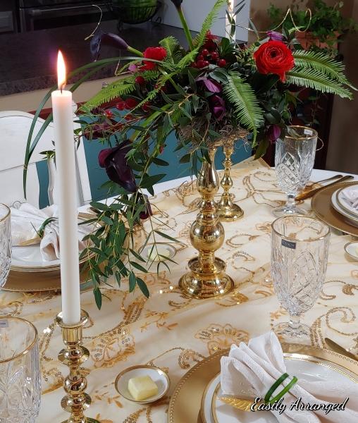 candle piece center
