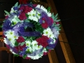 WREATH WITH RIBBONS VIEW 2