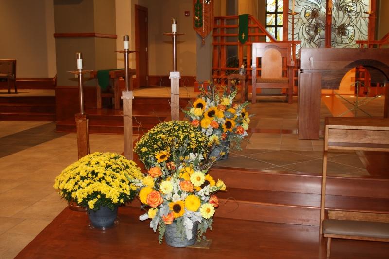 CHURCH ARRANGEMENTS